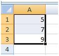 הקלקה ידנית לתוך Excel